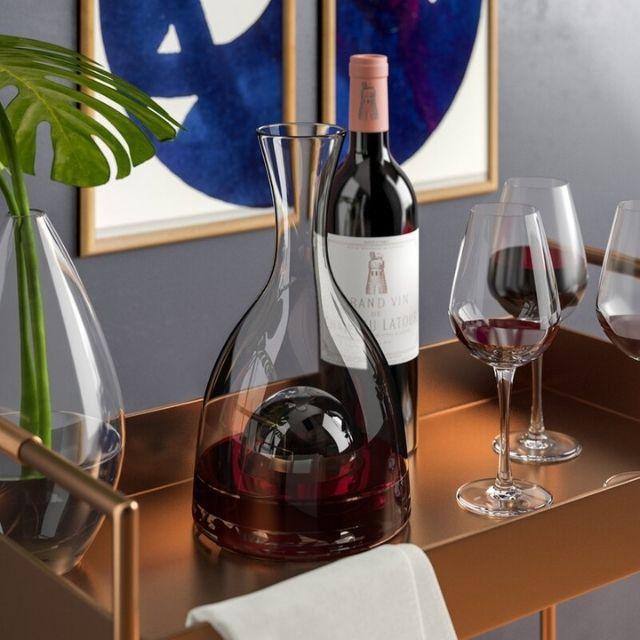 Cifuentes Visual 48 oz. Wine Decanter