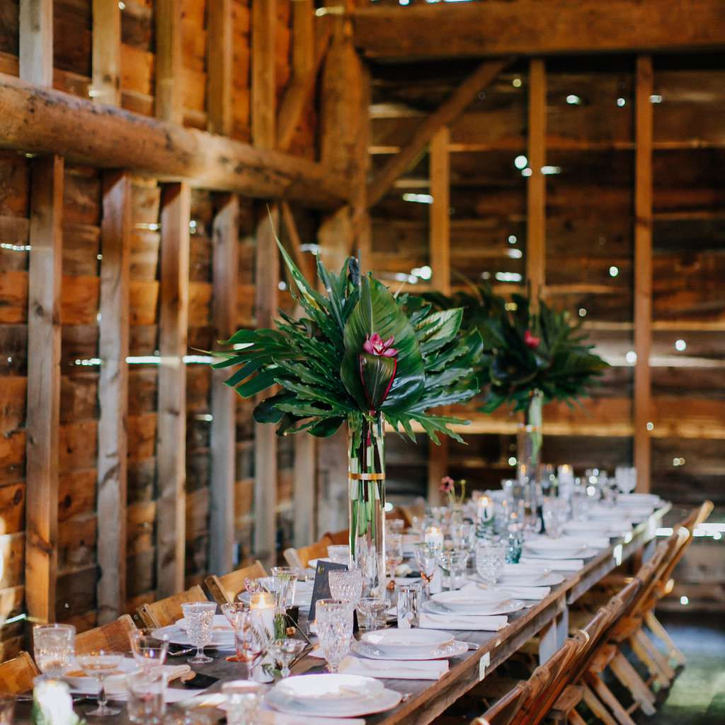 <p>barn long wooden tables</p><br><br>