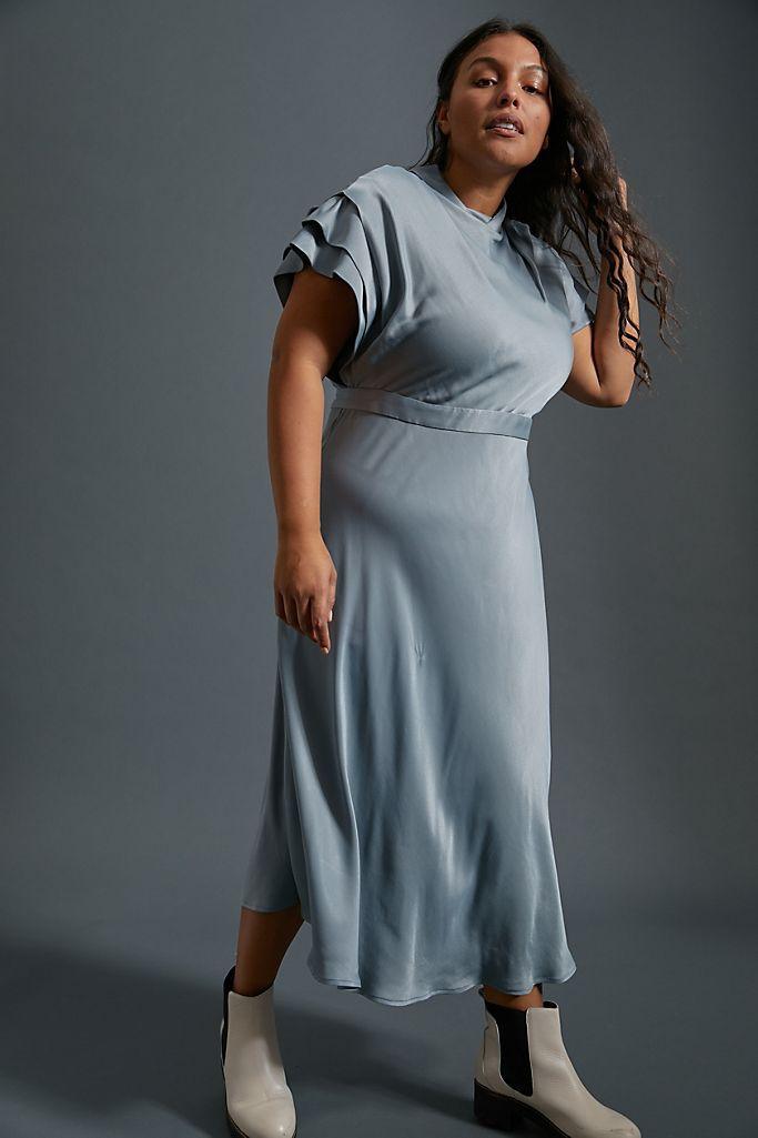 Anthropologie Madeleine Midi Dress, $168