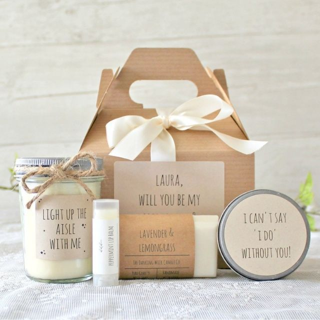 TheDancingWick Bridesmaid Gift