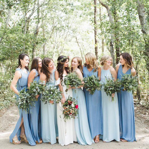 25 Unique Bridesmaid Dresses From Real Weddings,Wide Width Black Dress Sandals For Wedding Memory Foam