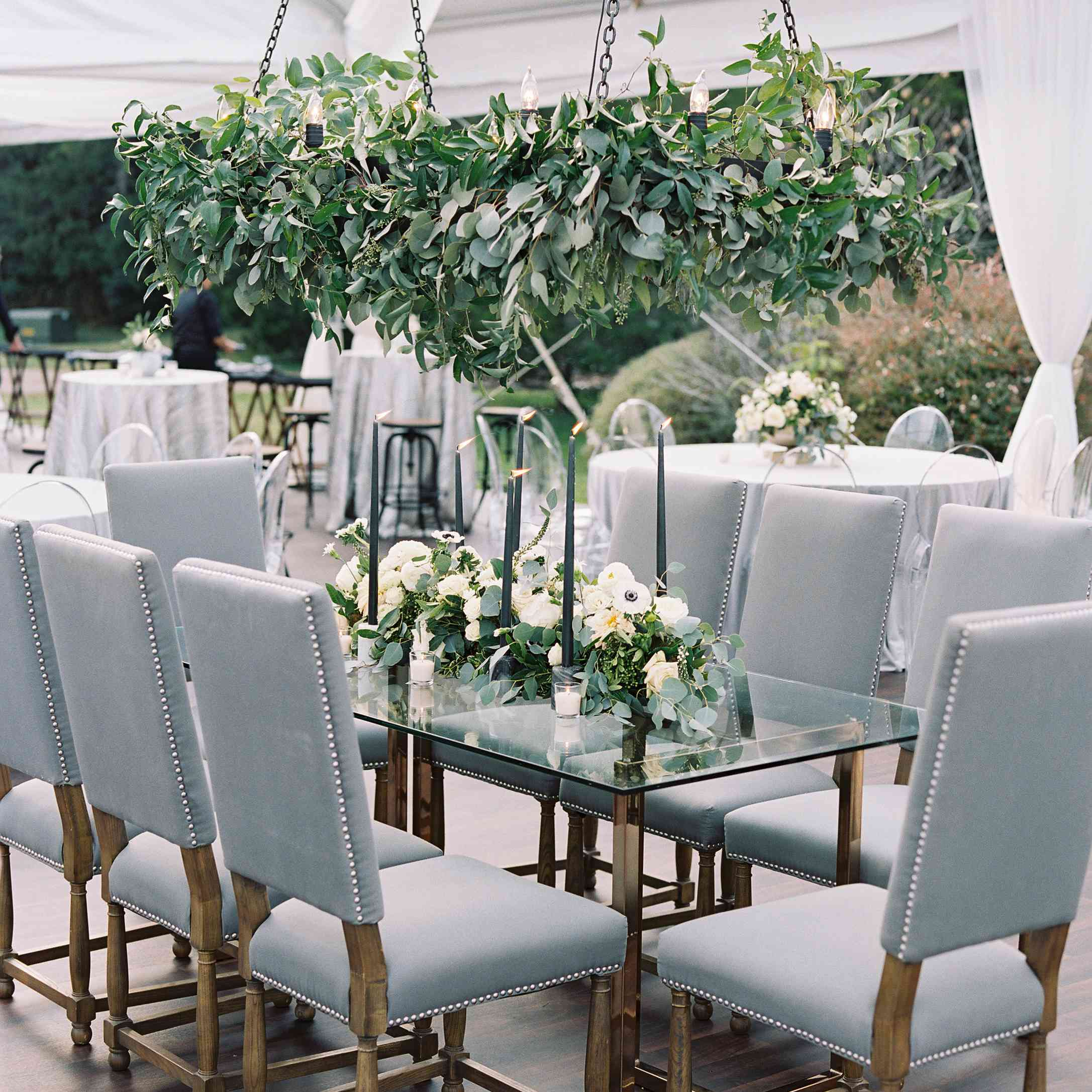 <p>Reception dining table</p><br><br>