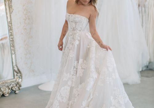 bridal salon shopping