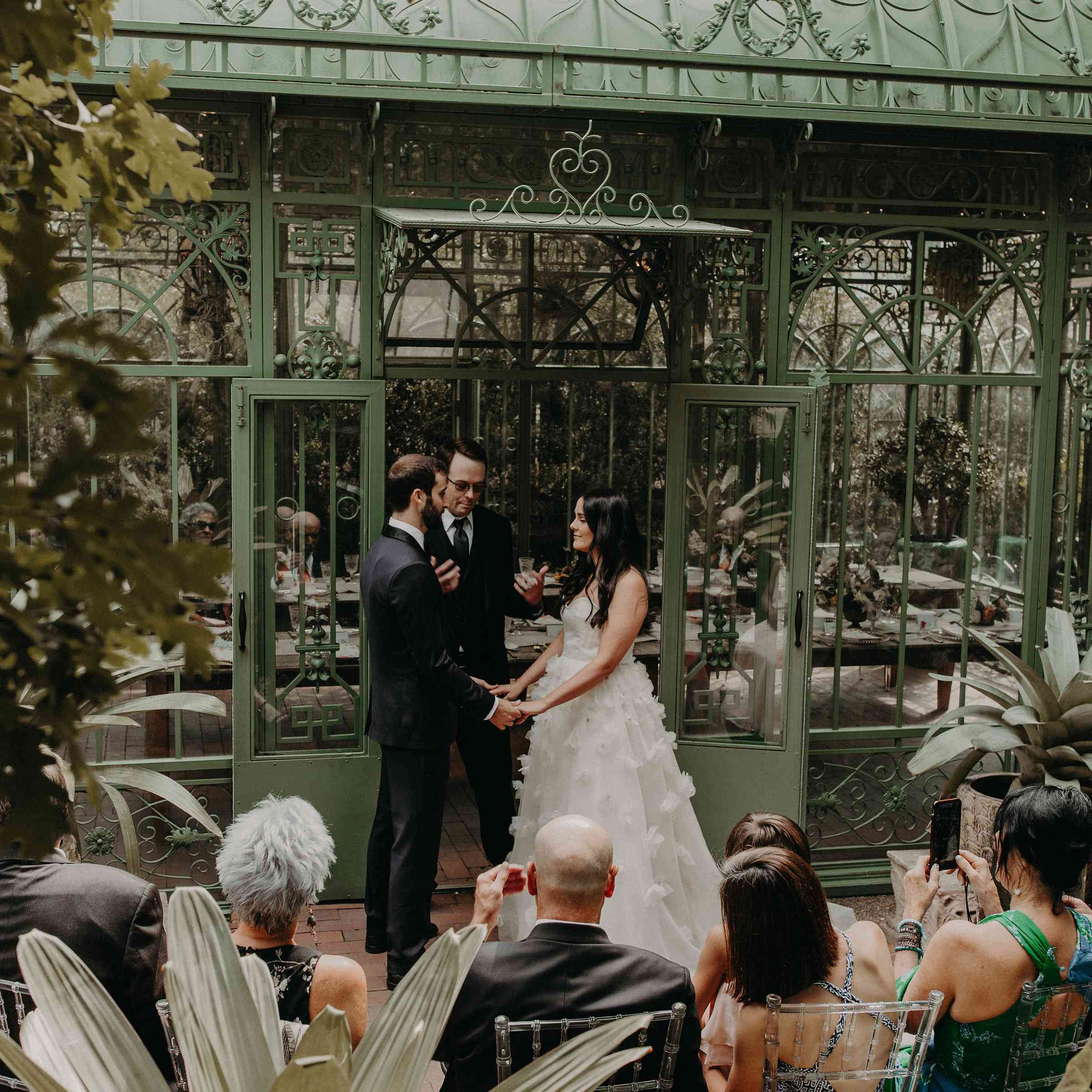 This Garden Wedding Came Together In Just 52 Days