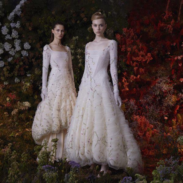 models wearing dress