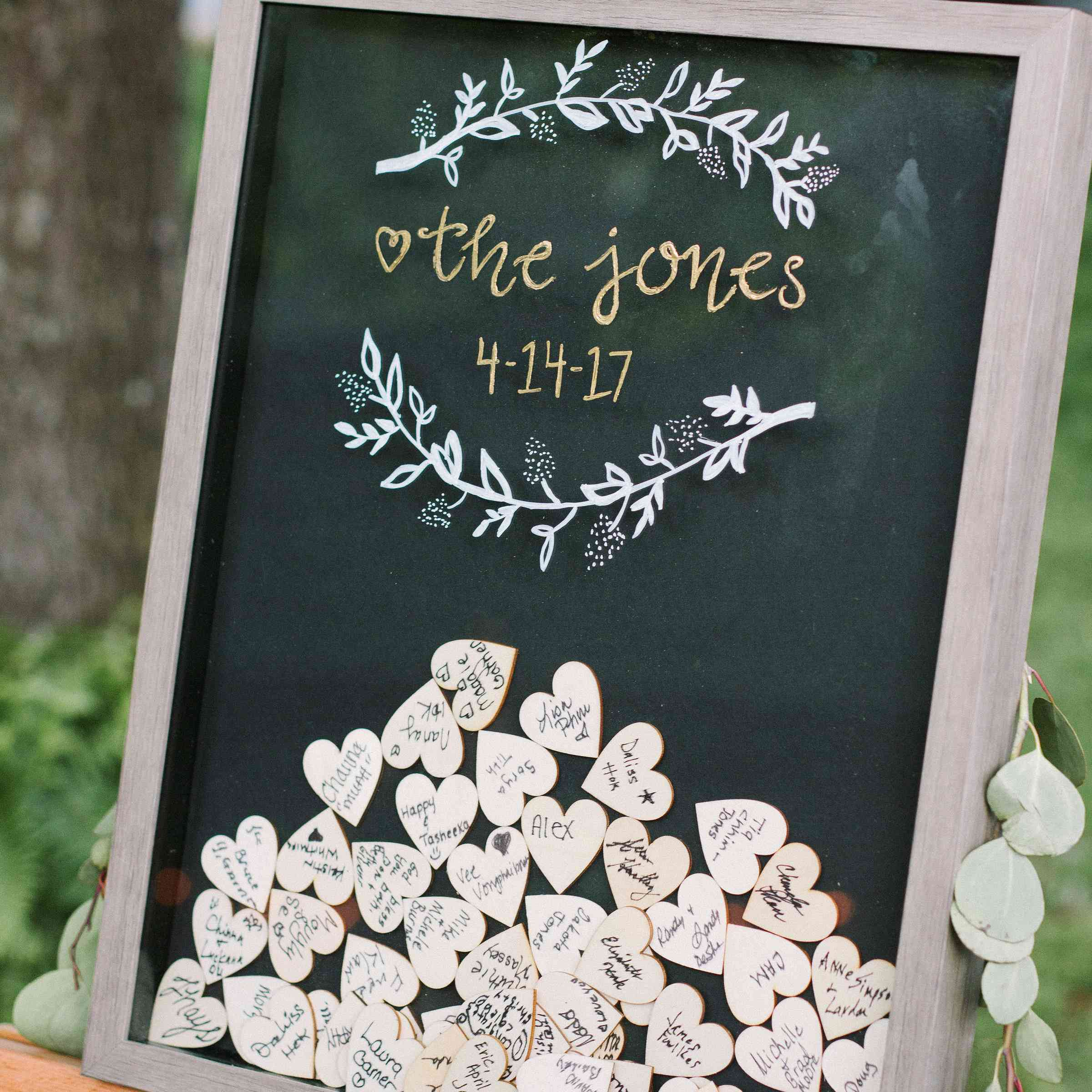 Wedding Ideas For 30 Guests: 21 Unique Wedding Guest Book Ideas For All Couples