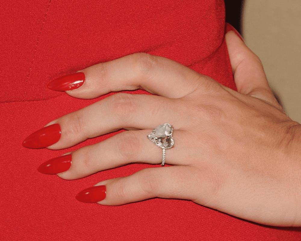 Lady Gaga first engagement ring