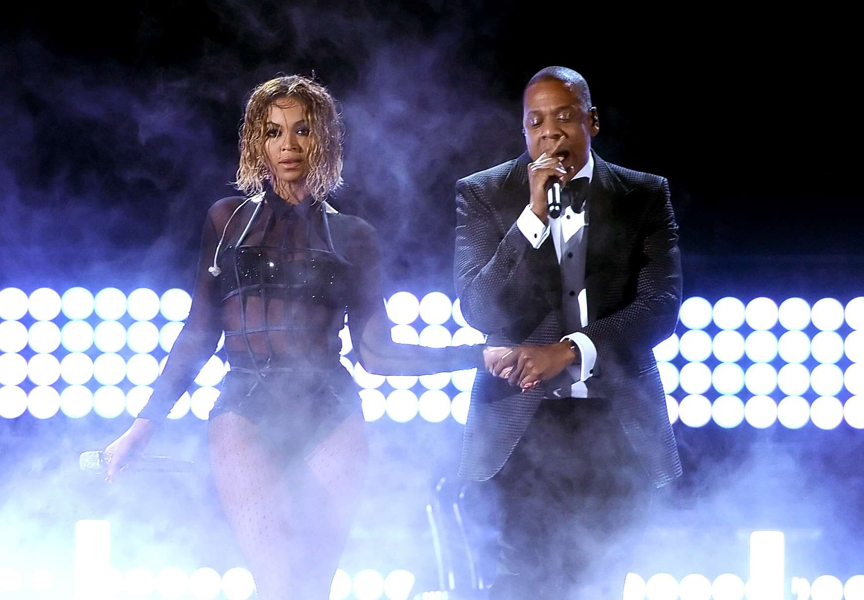 beyonce and jay z performing