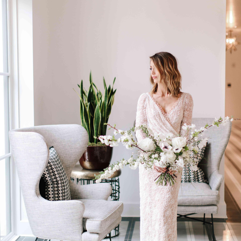 Bride with lob