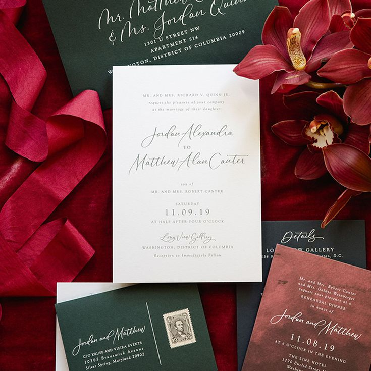 When To Send Wedding Invitations And