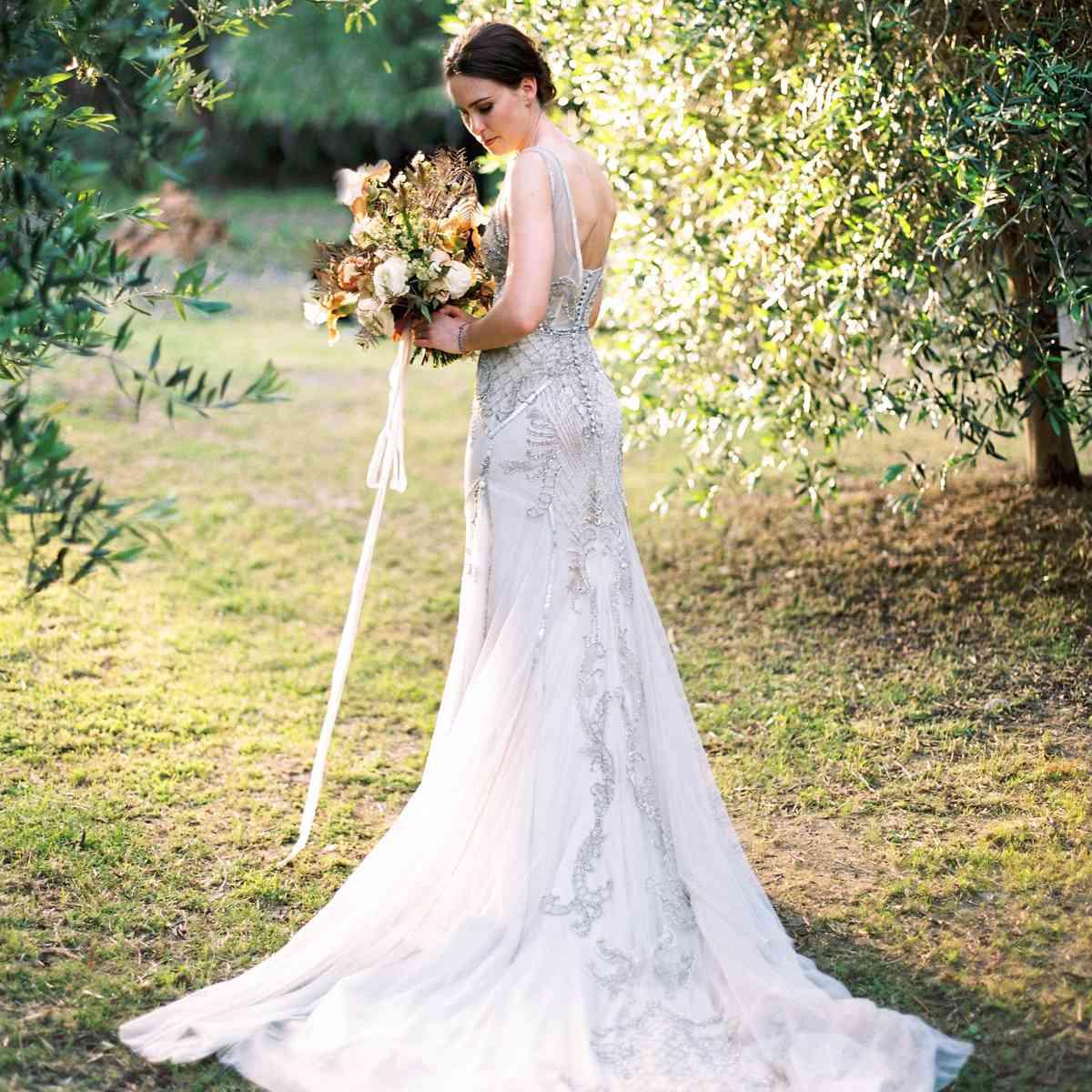 brides in dress
