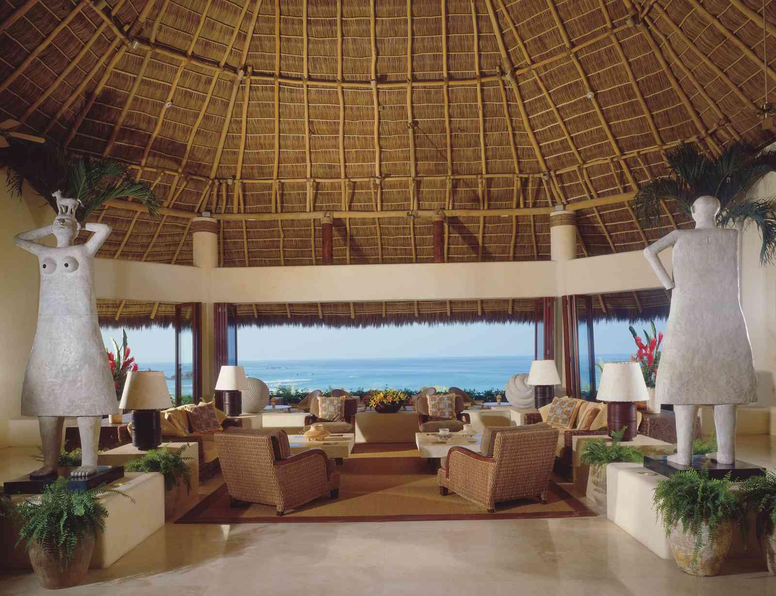 The entrance to Four Seasons Resort Punta Mita, Mexico