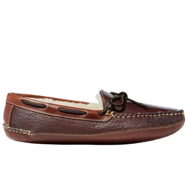 L.L. Bean Men's Bison Double-Sole Slippers