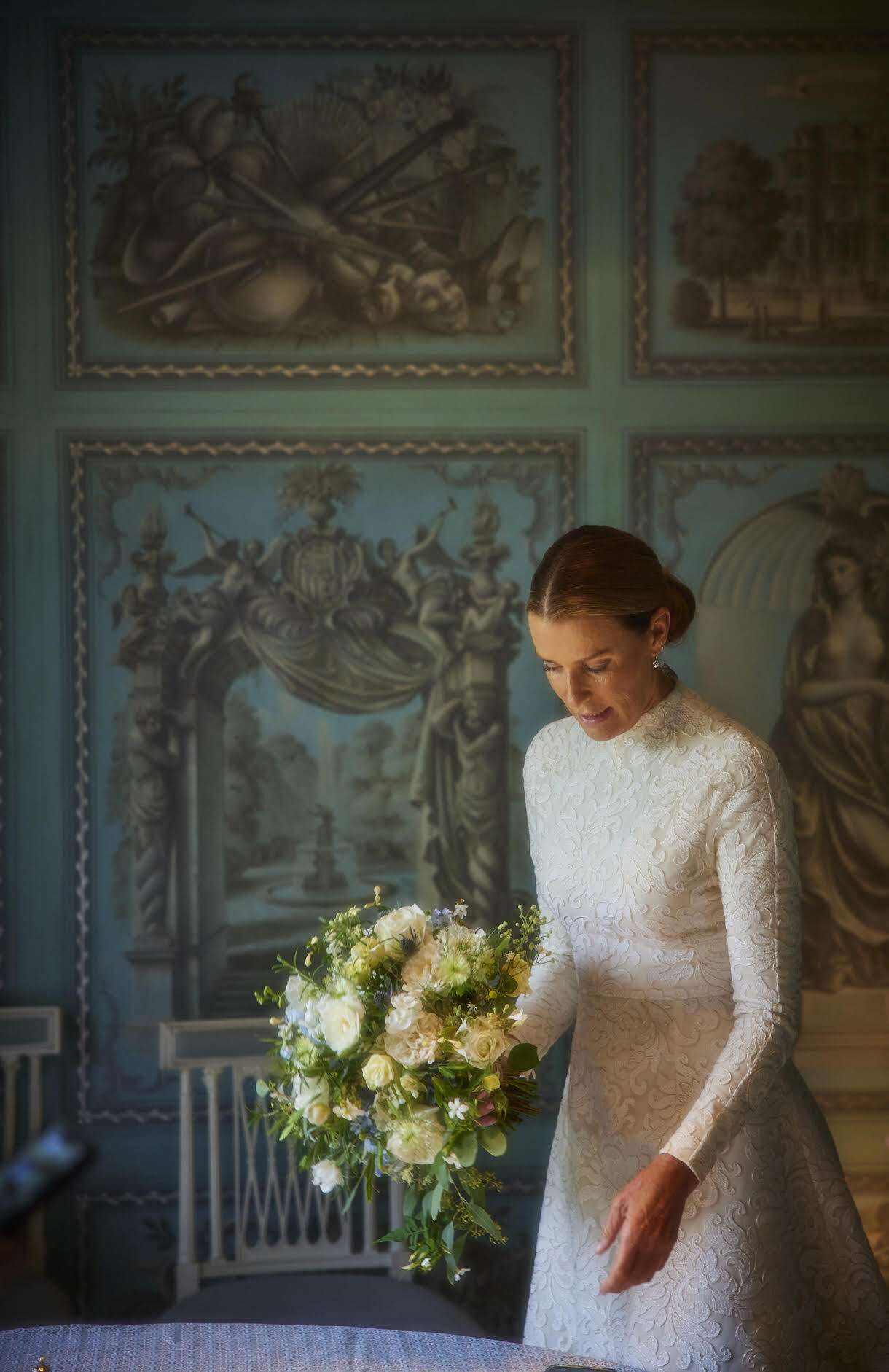 India Hicks wedding gown
