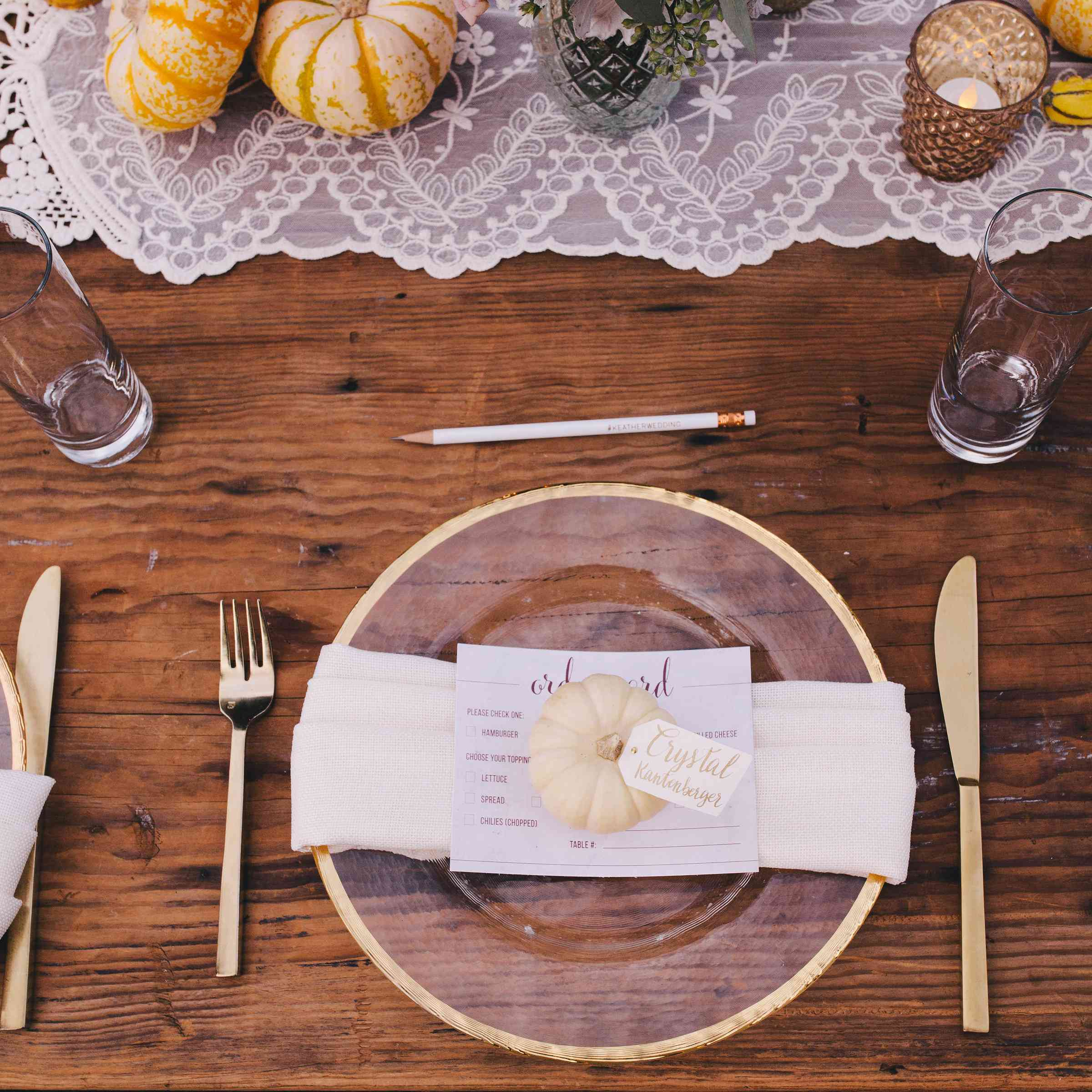12 Ways To Decorate Your Fall Wedding With Pumpkins