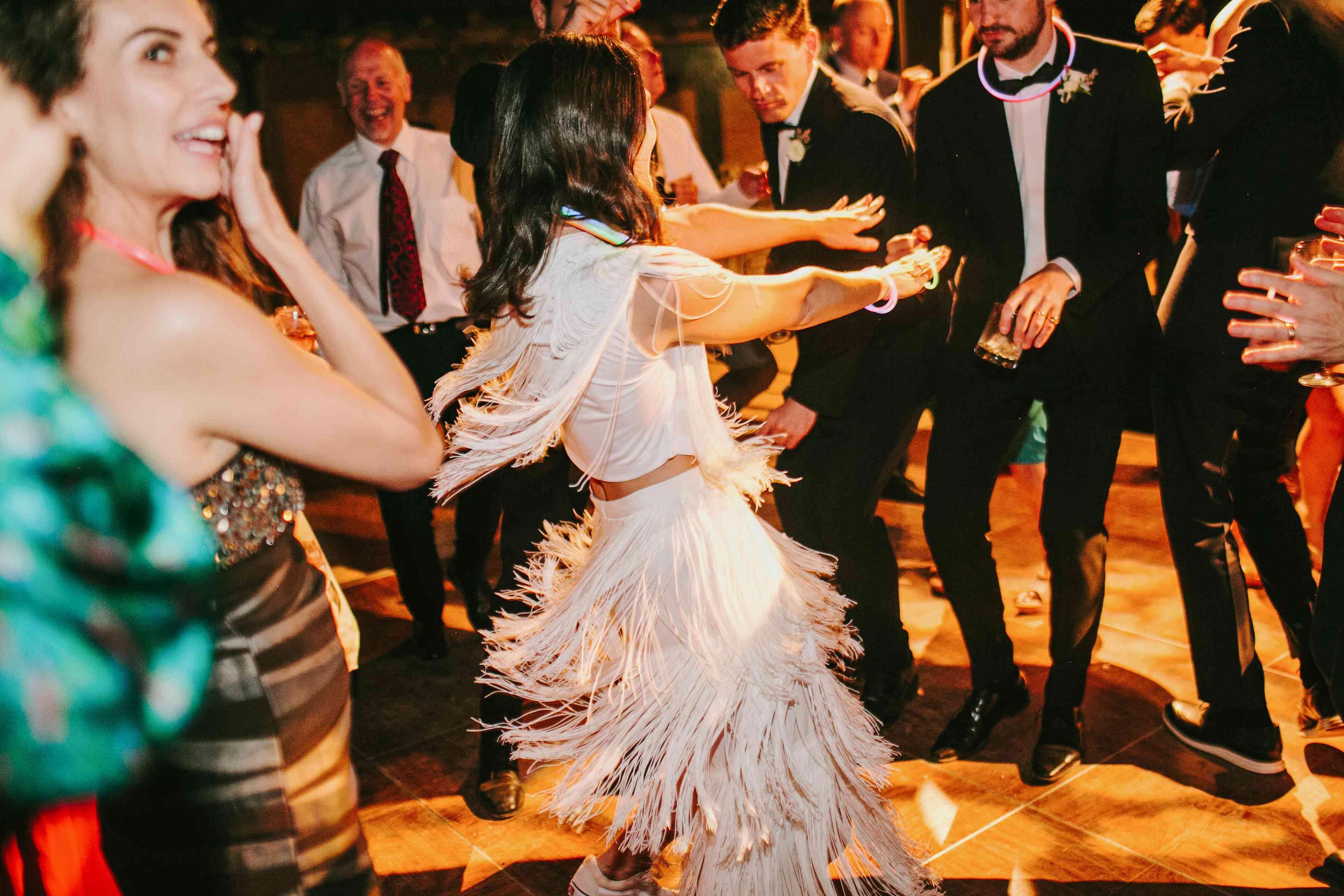 <p>dance floor bride and groom dancing</p><br><br>