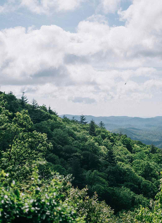 View of Highlands, North Carolina
