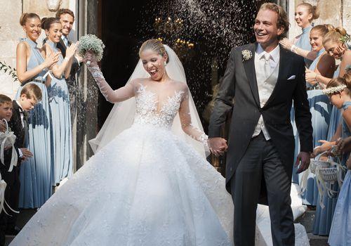 Victoria Swarovski and Werner Muerz Wedding