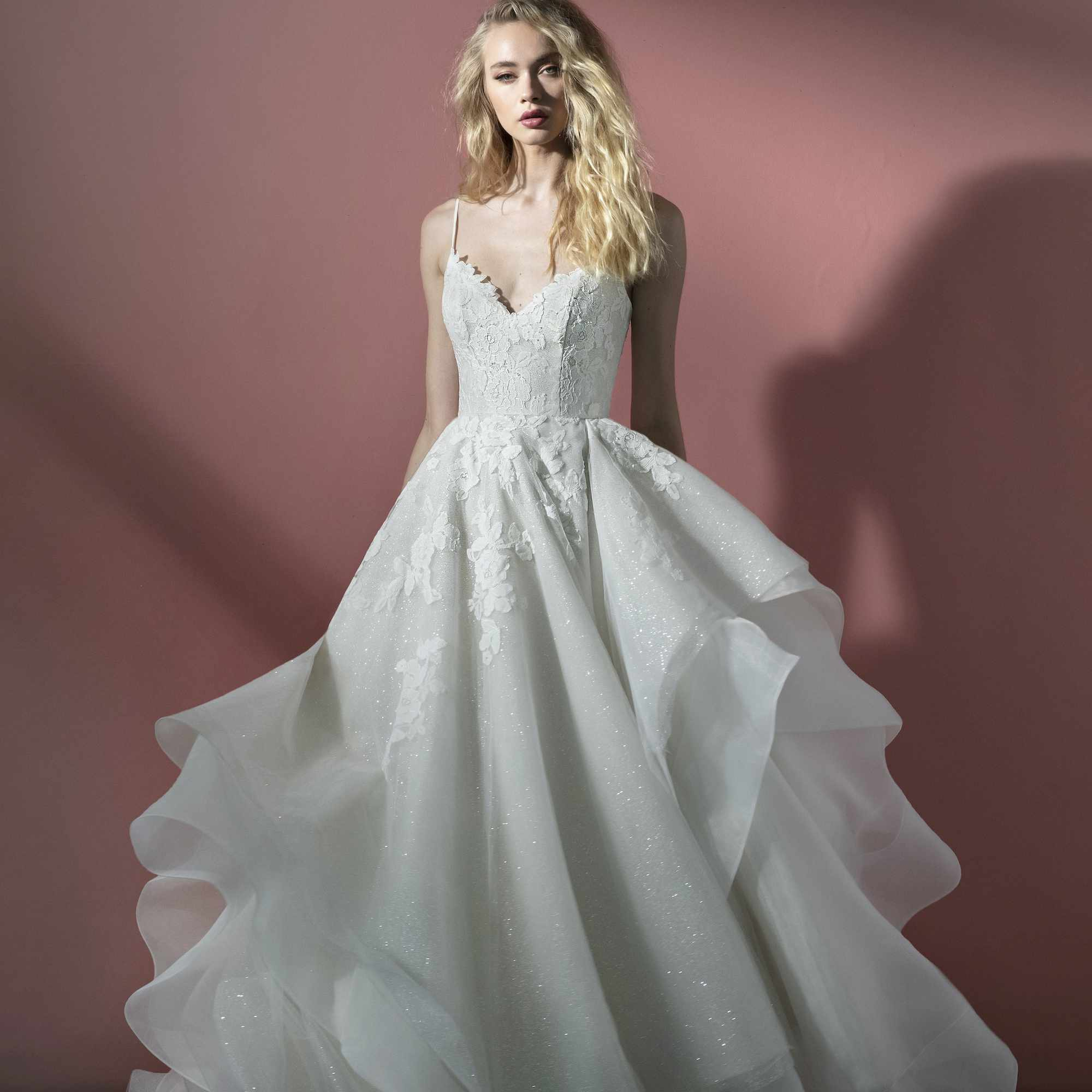 Scout lace wedding dress