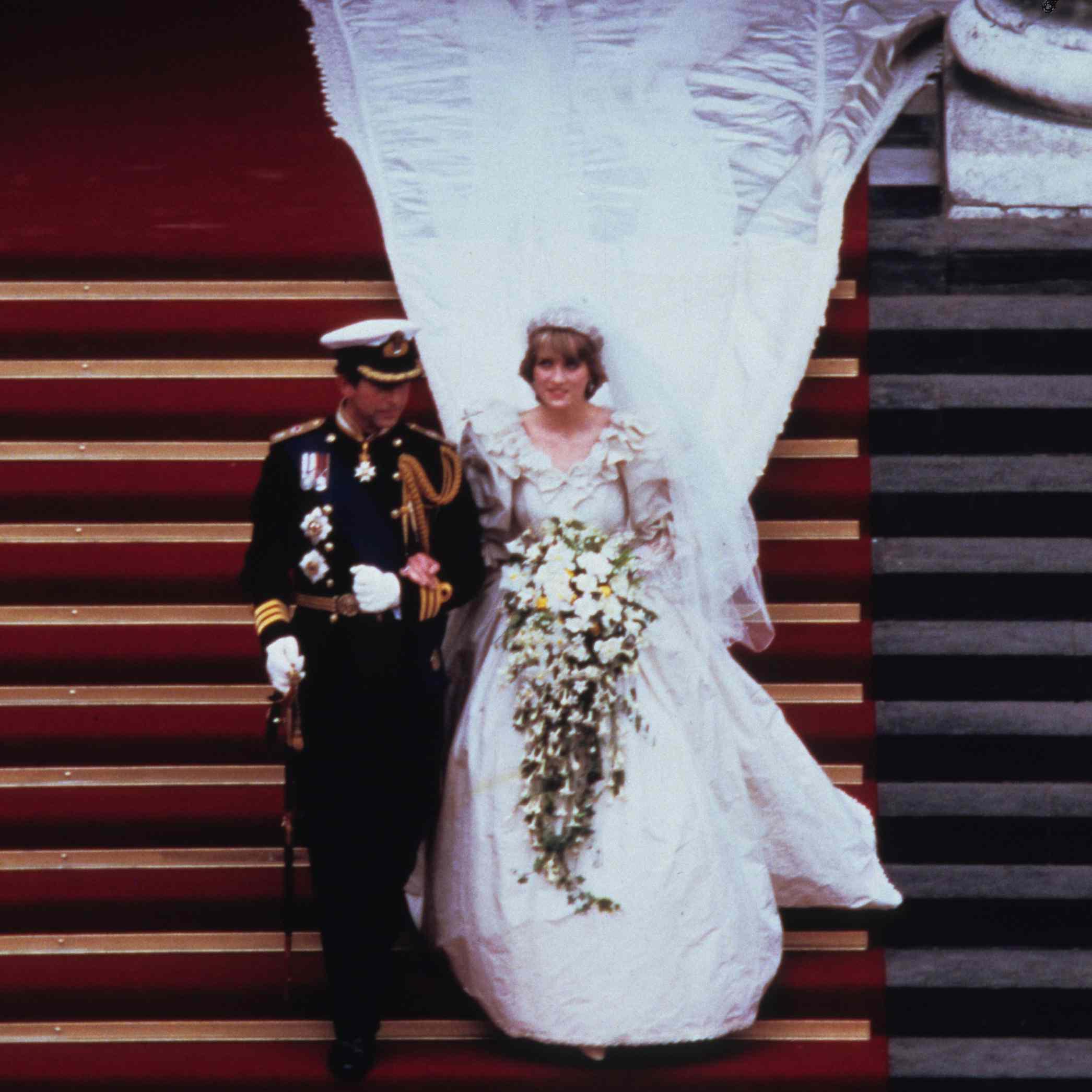 Princess Diana's Wedding Dress Designer Created A Secret