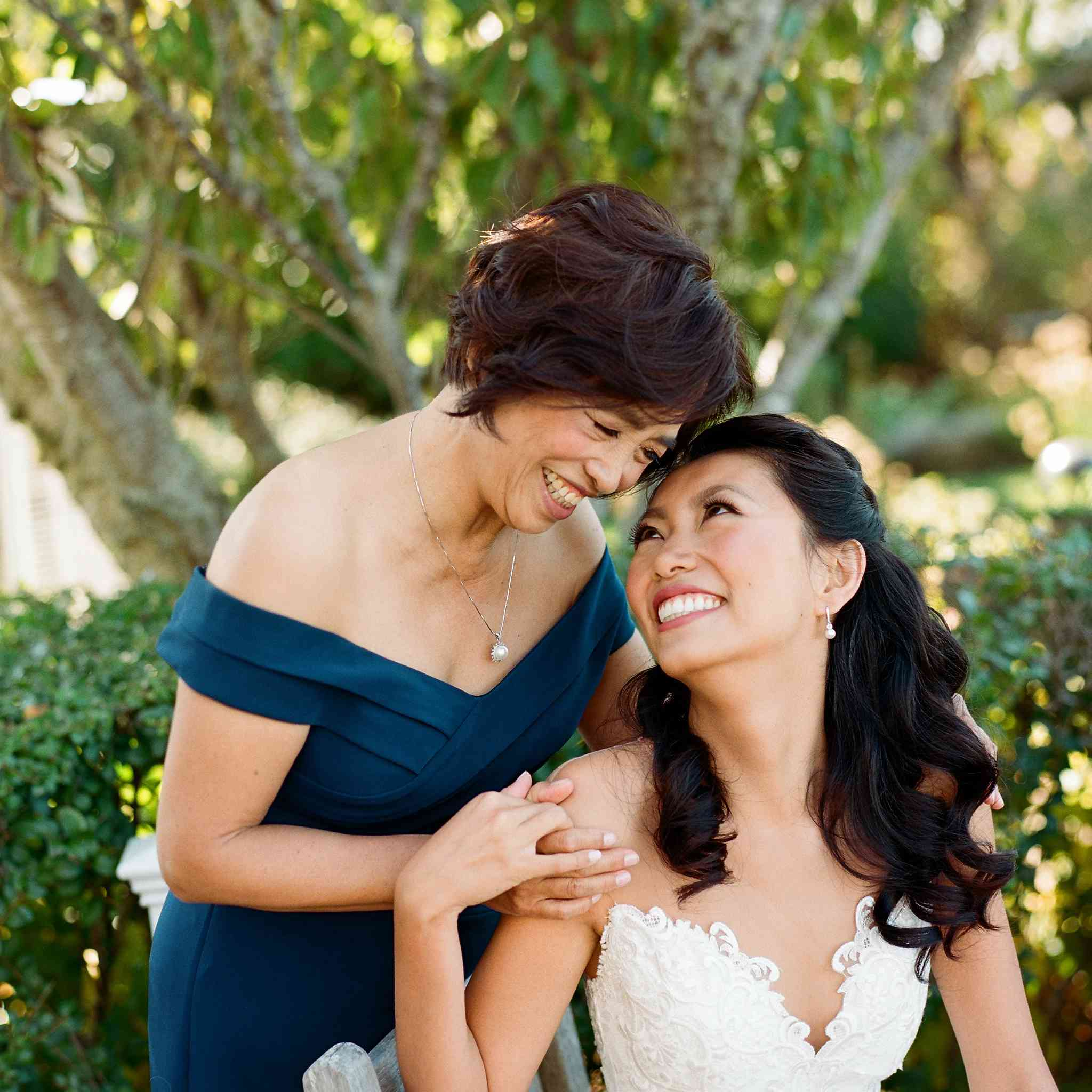 <p>bride and mother of the bride</p><br><br>