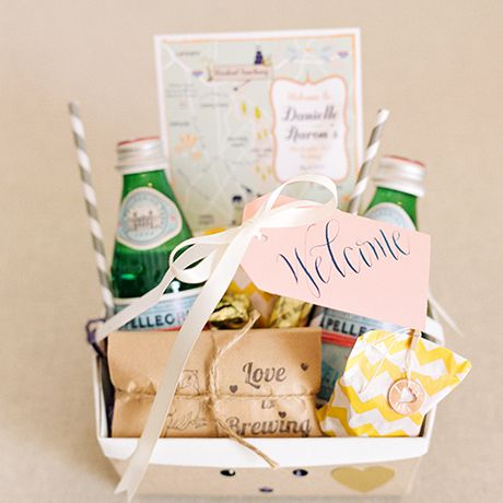 19 Creative Wedding Welcome Bag Ideas