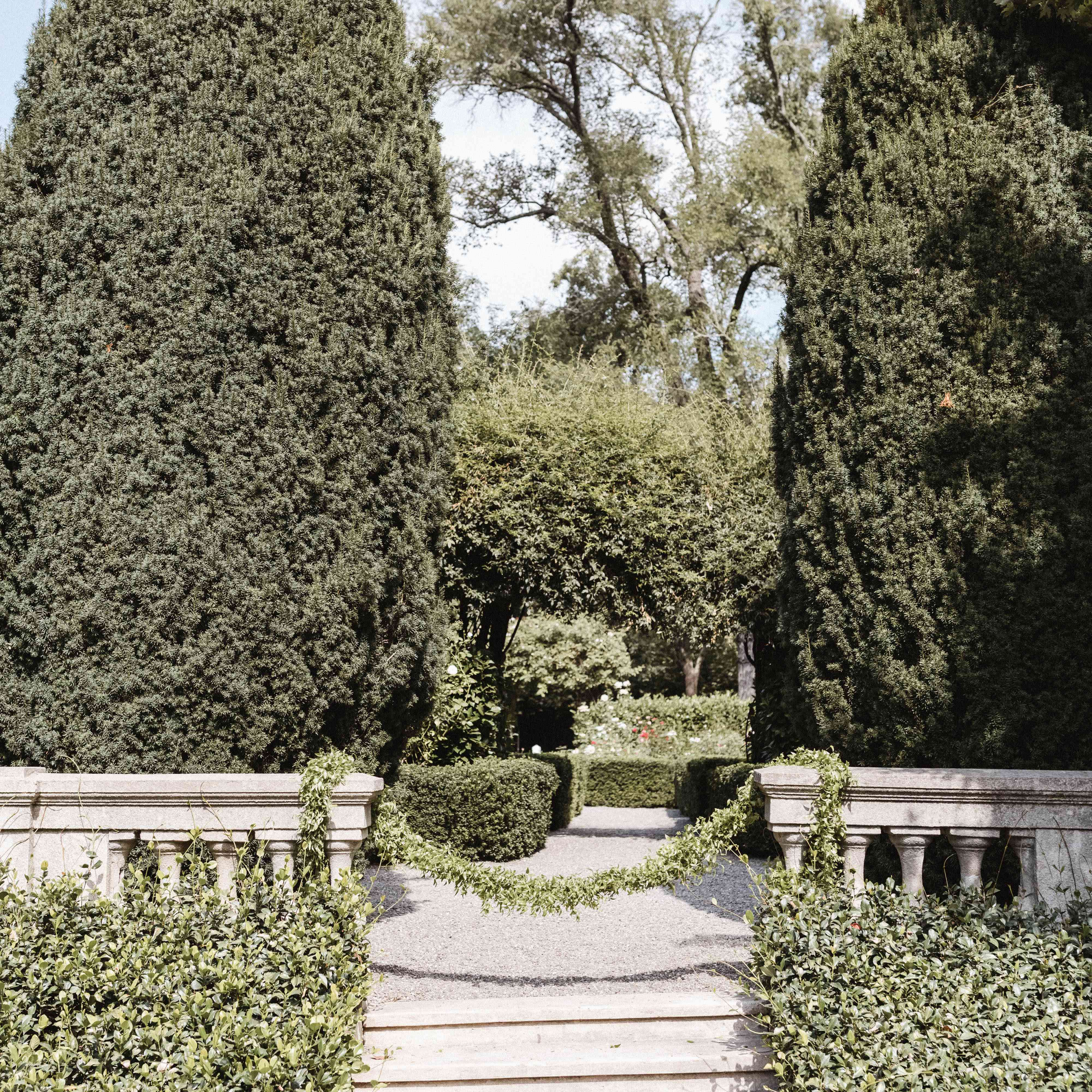 garden wedding venue