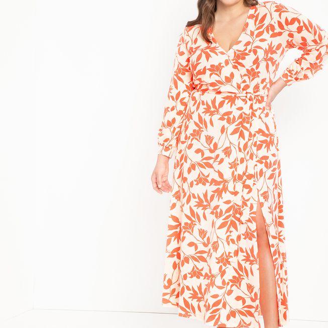 Eloquii Wrap Maxi Dress, $129.95