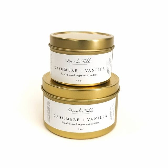Cashmere and Vanilla Candle