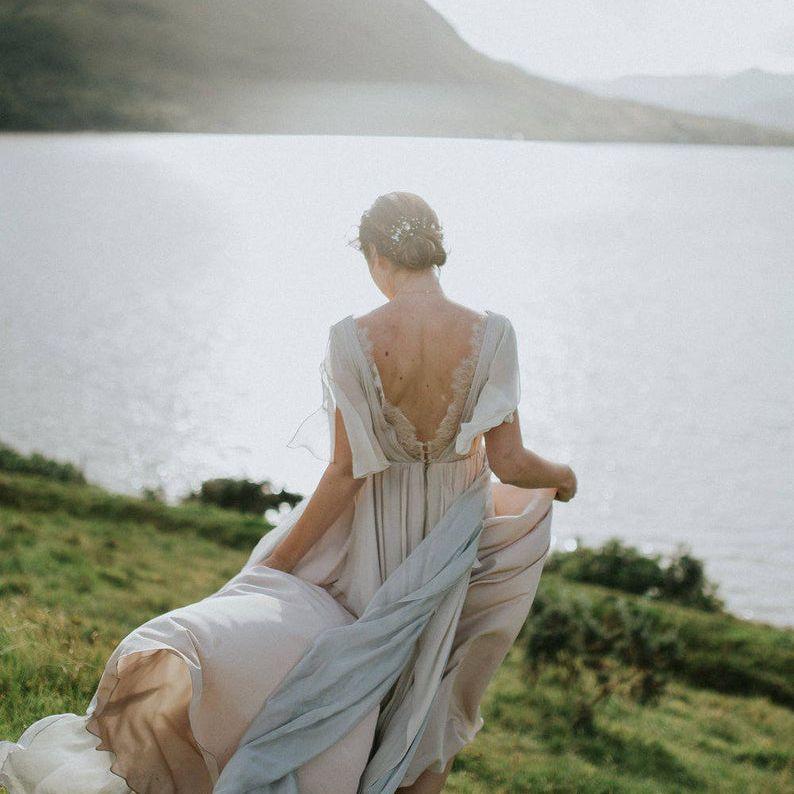 whitney dress etsy