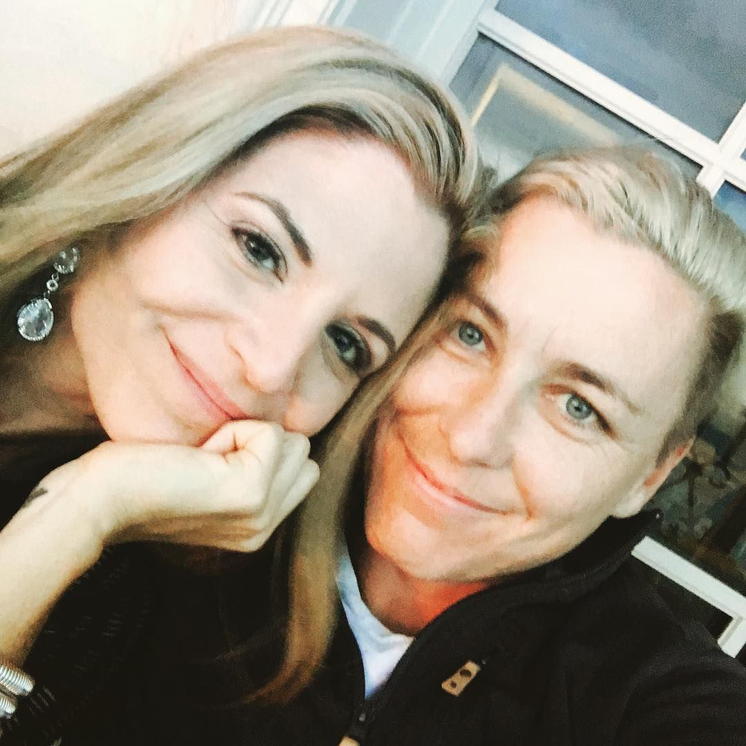 Soccer Player Abby Wambach And Blogger Glennon Doyle