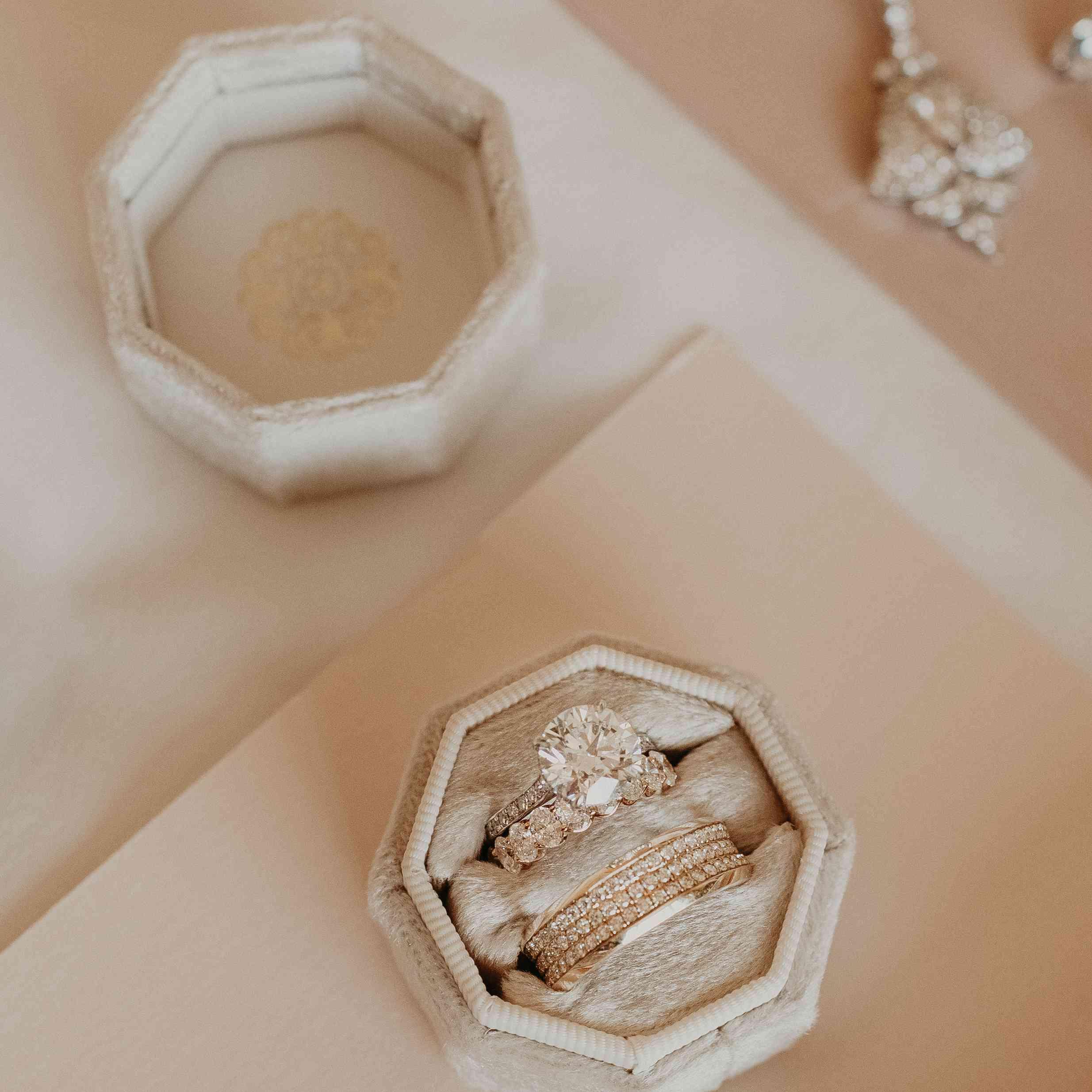 Baker Mayfield Wedding, ring