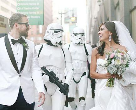 Use the Force: 9 Creative Star Wars Wedding Ideas We Love