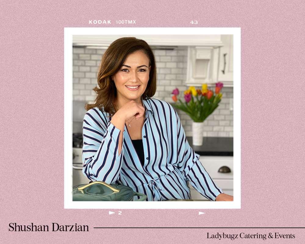 Shushan Darzian, wedding caterer