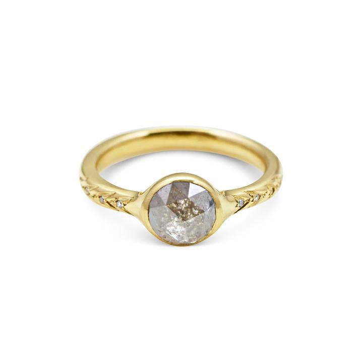 Michelle Oh Artemis Moon Ring