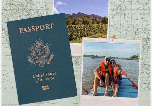 passport and travel photos