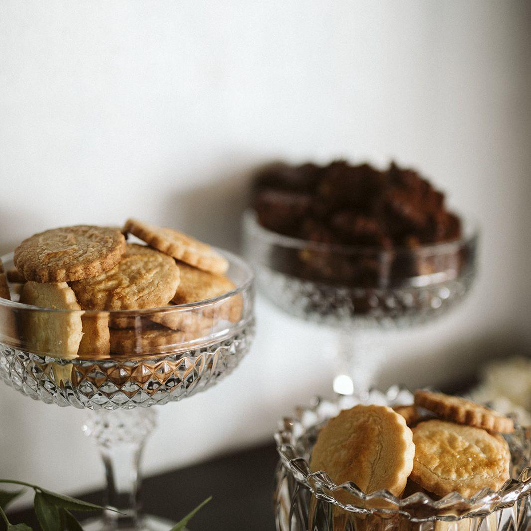 Desserts in bowls