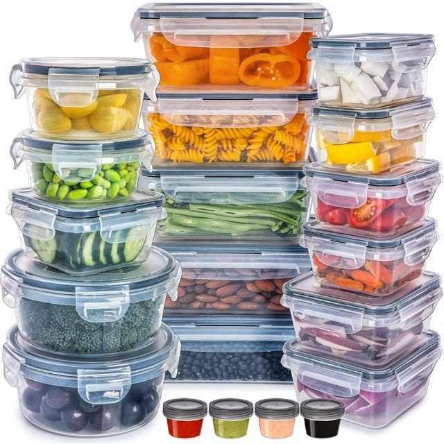 Fullstar Food Storage Containers, 20 pack