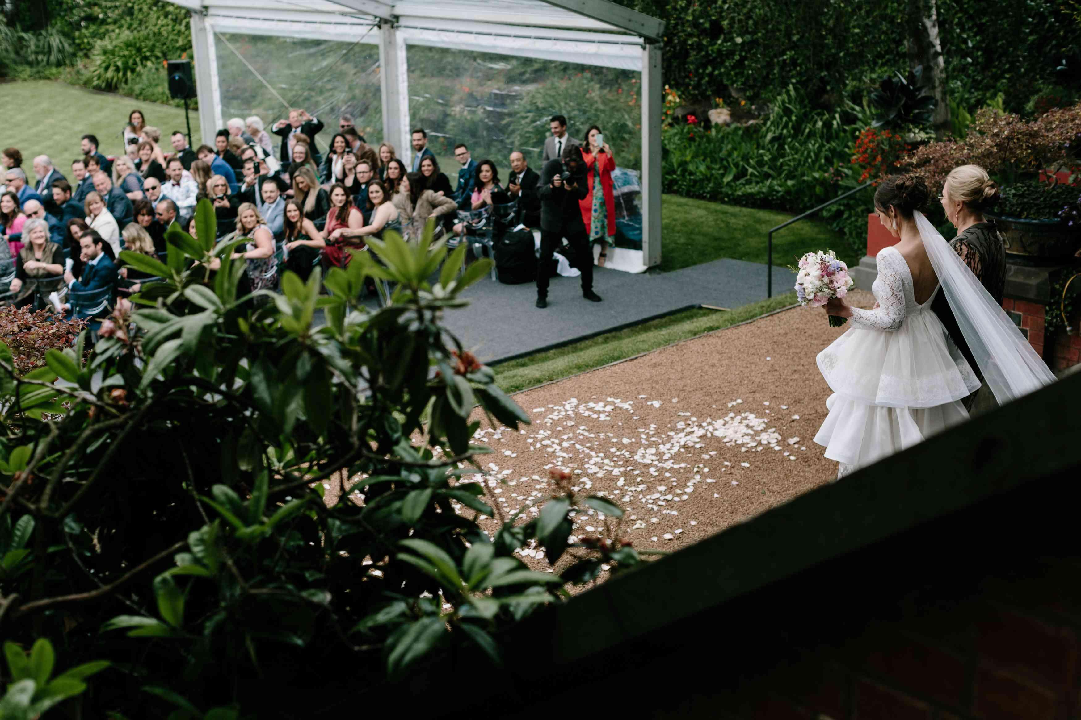 <p>bride with mom</p><br><br>