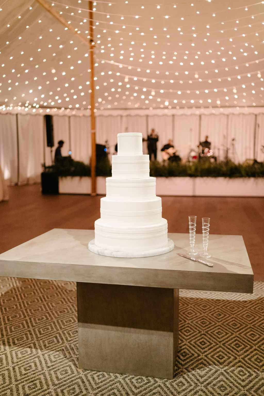 augusta wedding, wedding cake