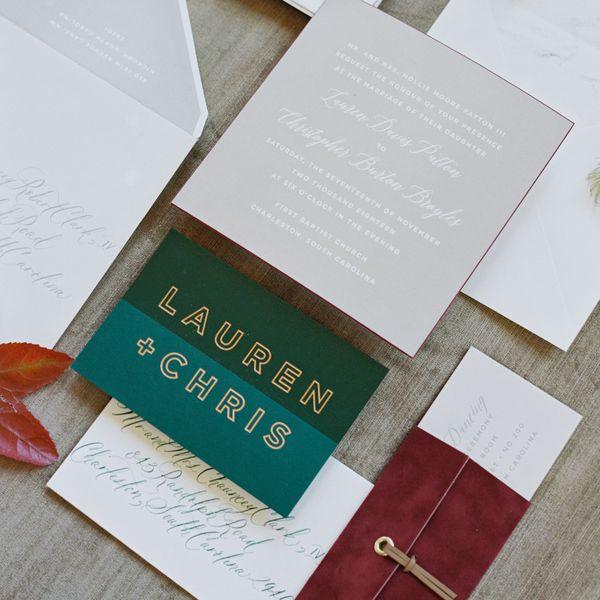 27 Unique Wedding Invitation Ideas