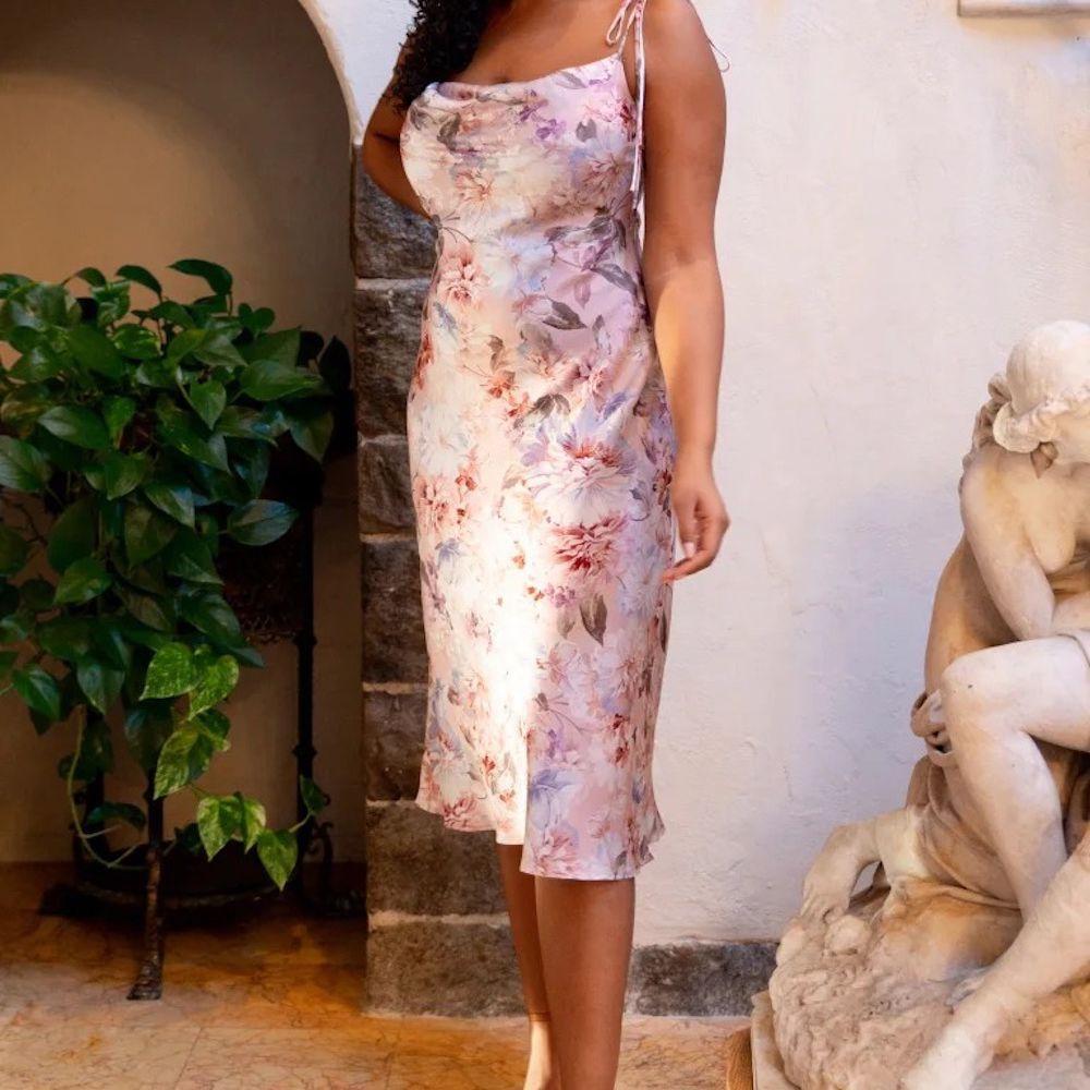 Jenny Yoo Collins English Garden Print Dress