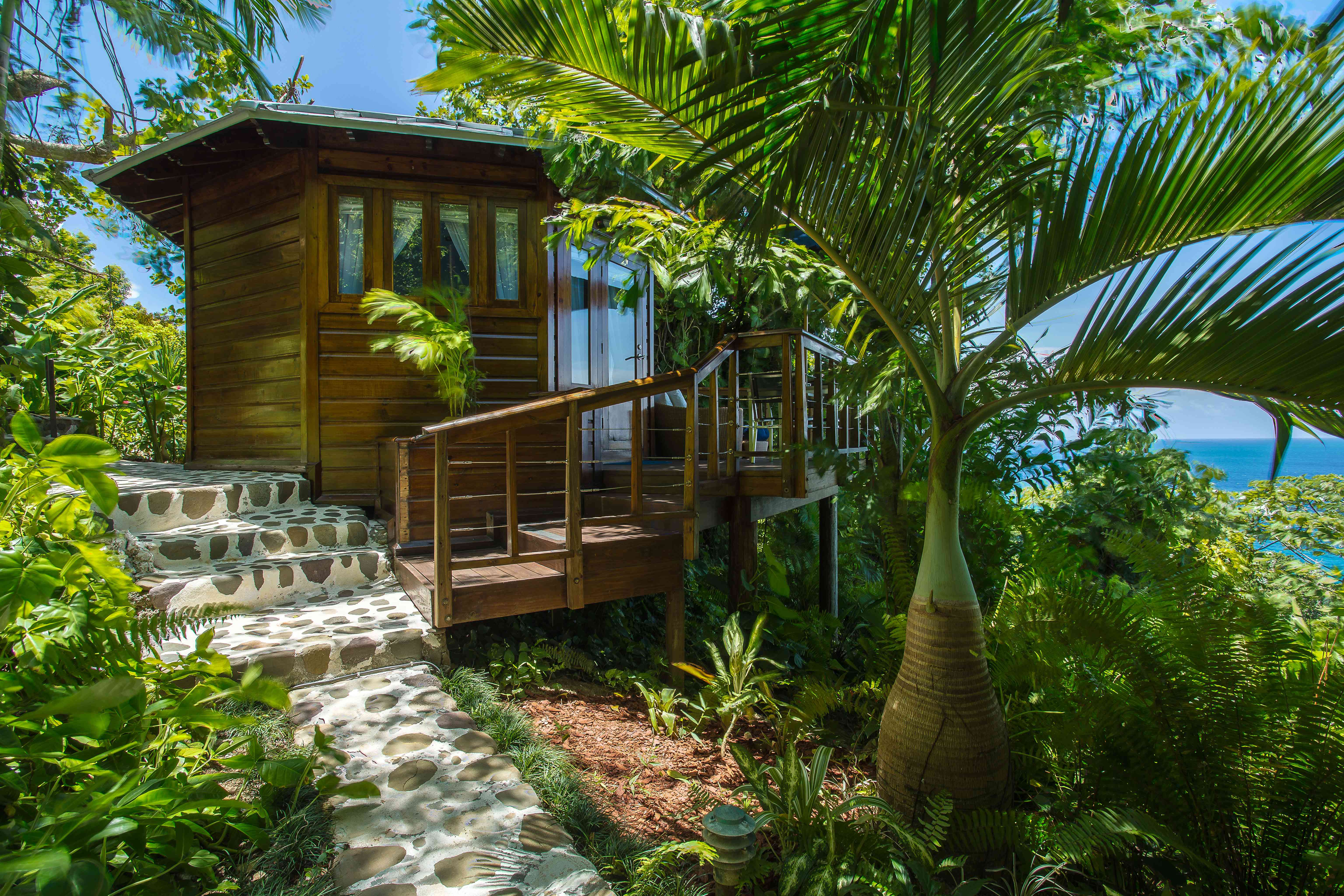 A rocksteady suite at the Geejam resort in Jamaica