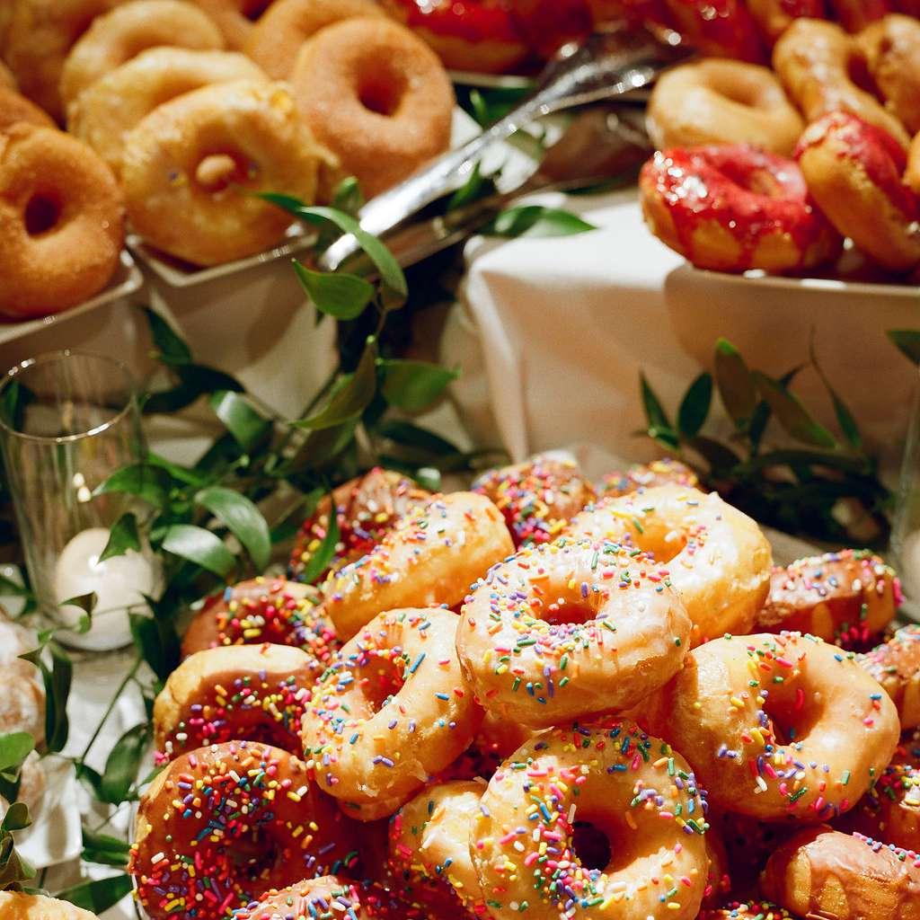 Donuts Wedding Dessert