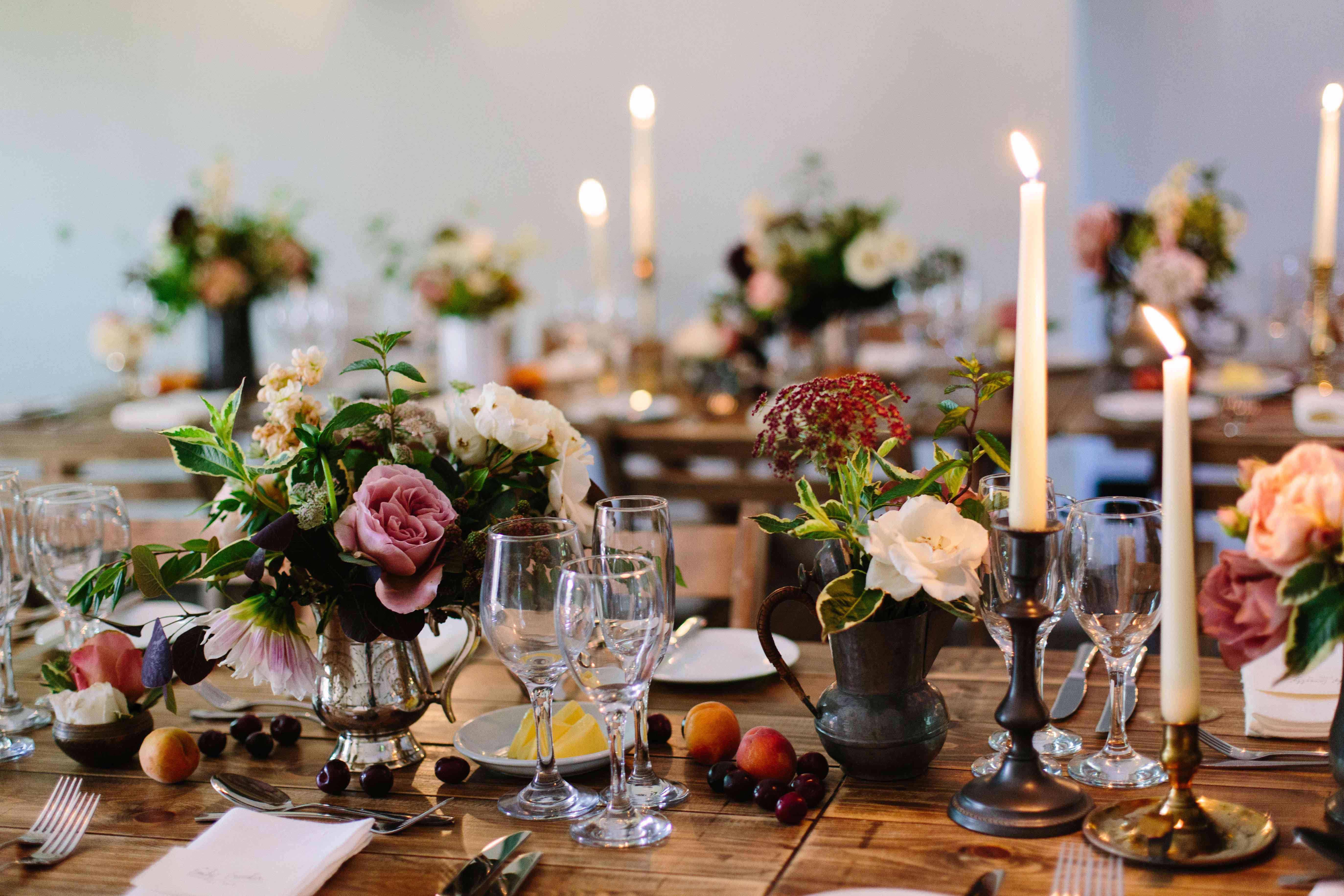 Candlestick Table Setting