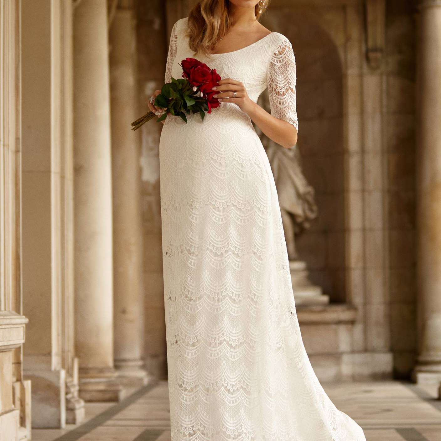 How To Find The Perfect Maternity Wedding Dress: 10 Tips