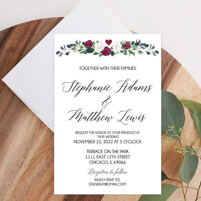 Amazon Handmade Invitation