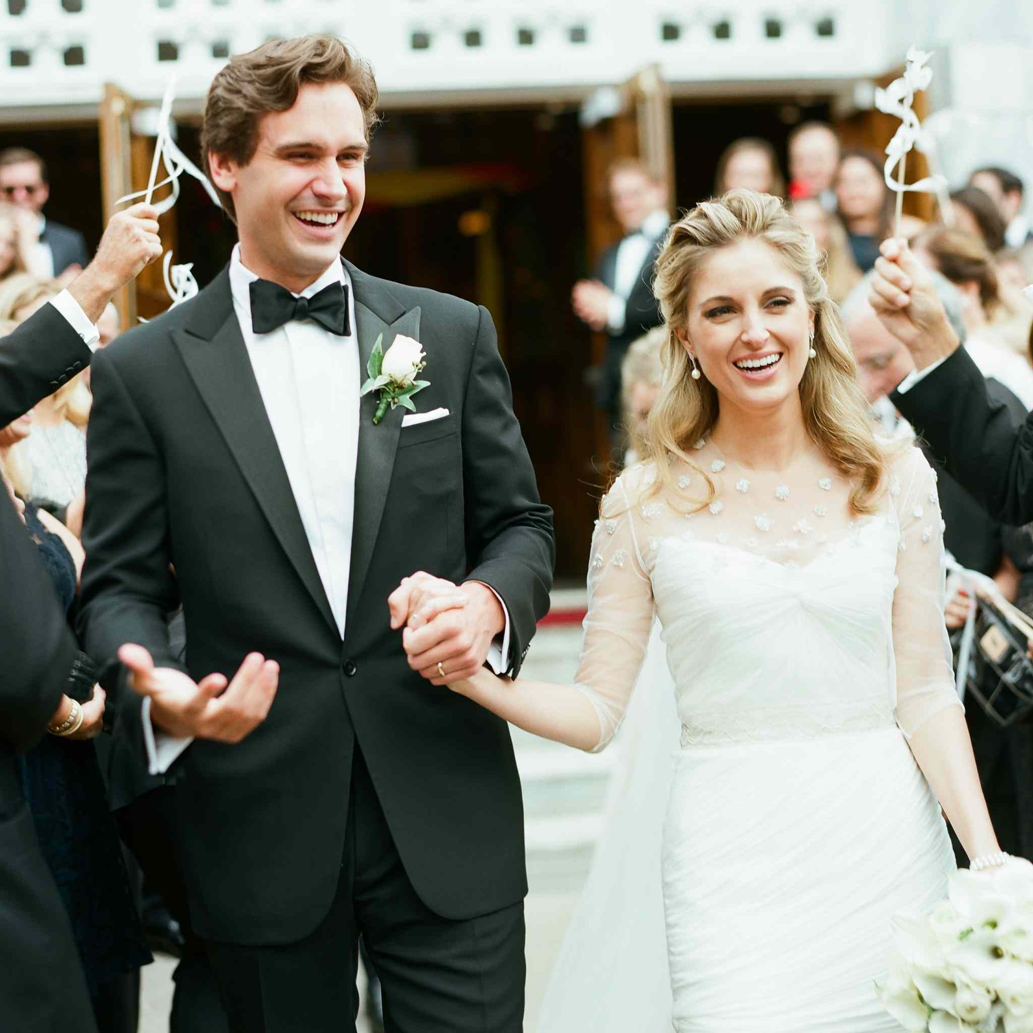 25 Picture-Perfect Wedding Ceremony Exits
