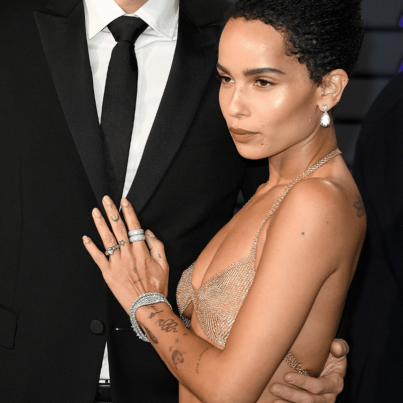 Zoë Kravitz engagement ring