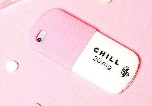 <p>Chill Pill iPhone Case</p>